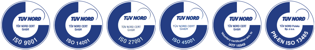 TÜV Nord ISO certification
